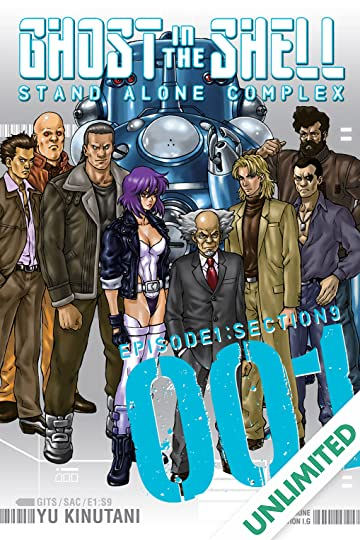Ghost in the Shell: Stand Alone Complex Vol. 1
