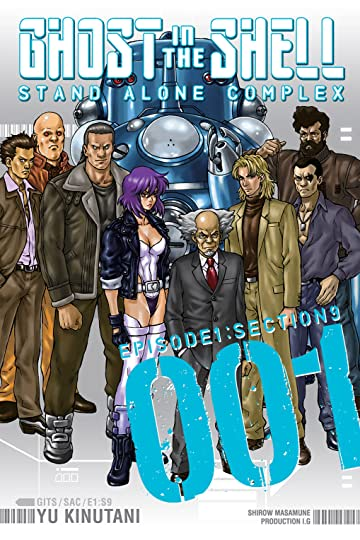 Ghost in the Shell: Stand Alone Complex Tome 1