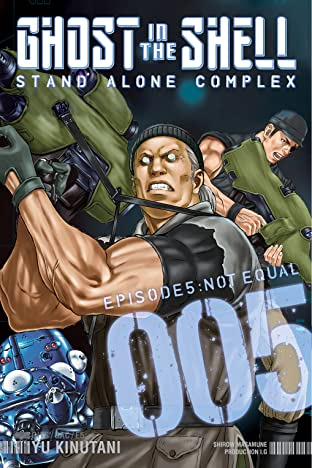 Ghost in the Shell: Stand Alone Complex Tome 5