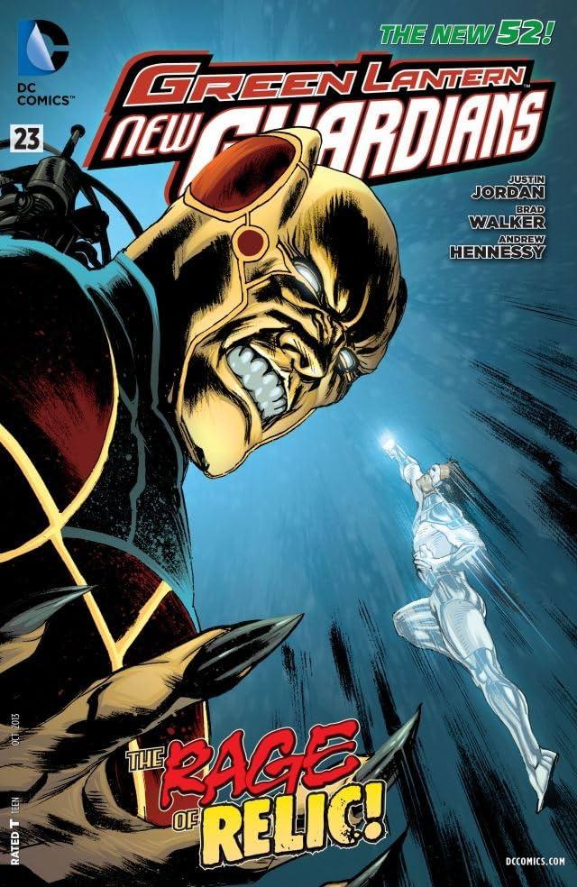 Green Lantern: New Guardians (2011-2015) #23
