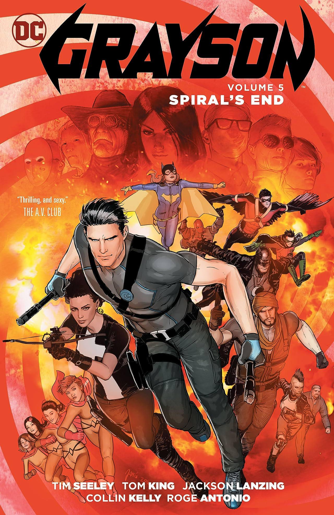 Grayson (2014-2016) Vol. 5: Spiral's End