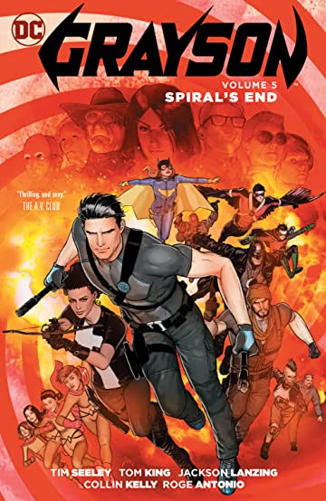 Grayson (2014-2016) Vol. 5: Spiral's End