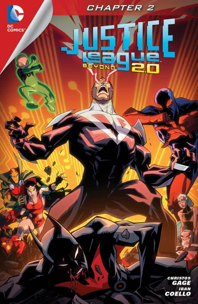 Justice League Beyond 2.0 (2013-2014) #2