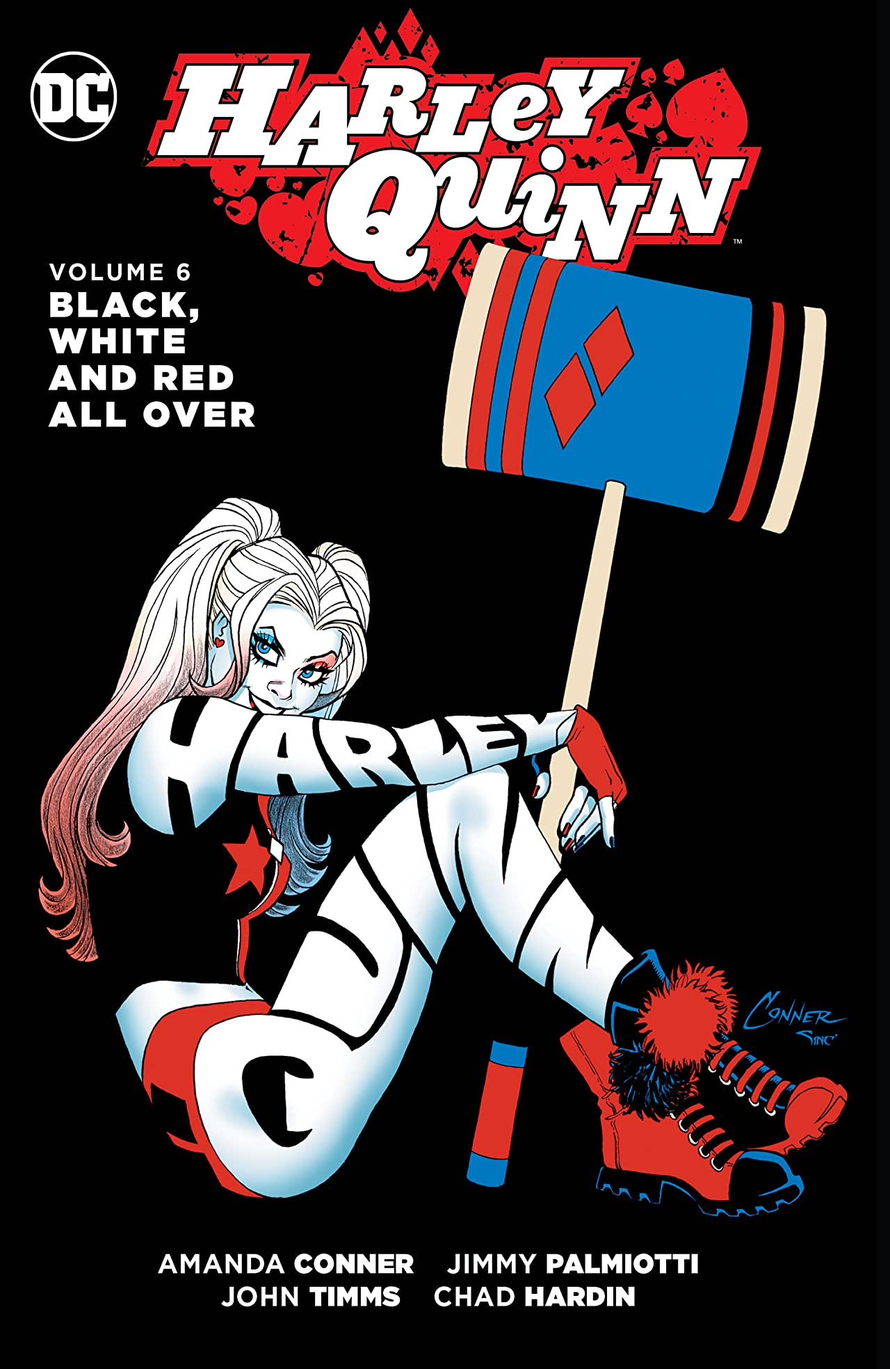 Harley Quinn (2013-2016) Vol. 6: Black, White and Red All Over