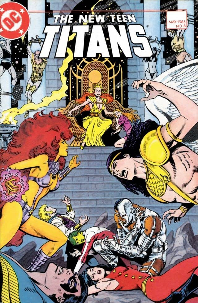 The New Teen Titans (1984-1996) #8