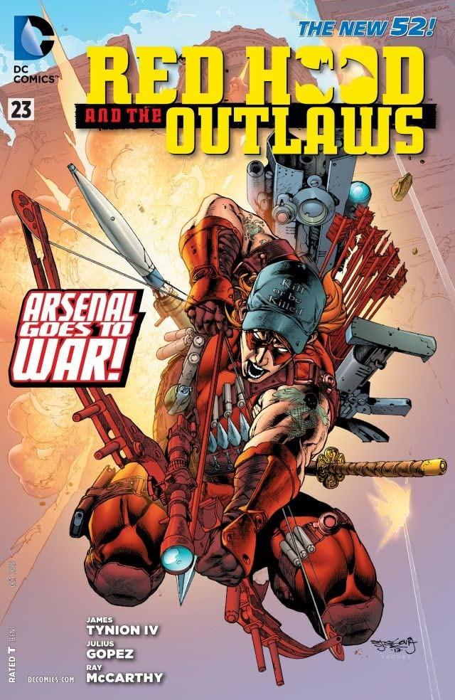 Red Hood and the Outlaws (2011-2015) #23