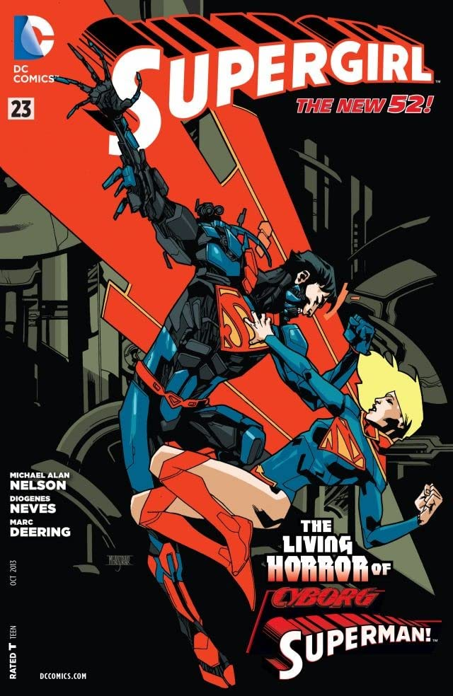 Supergirl (2011-2015) #23