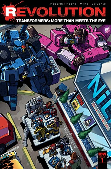 Transformers: More Than Meets the Eye: Revolution #1