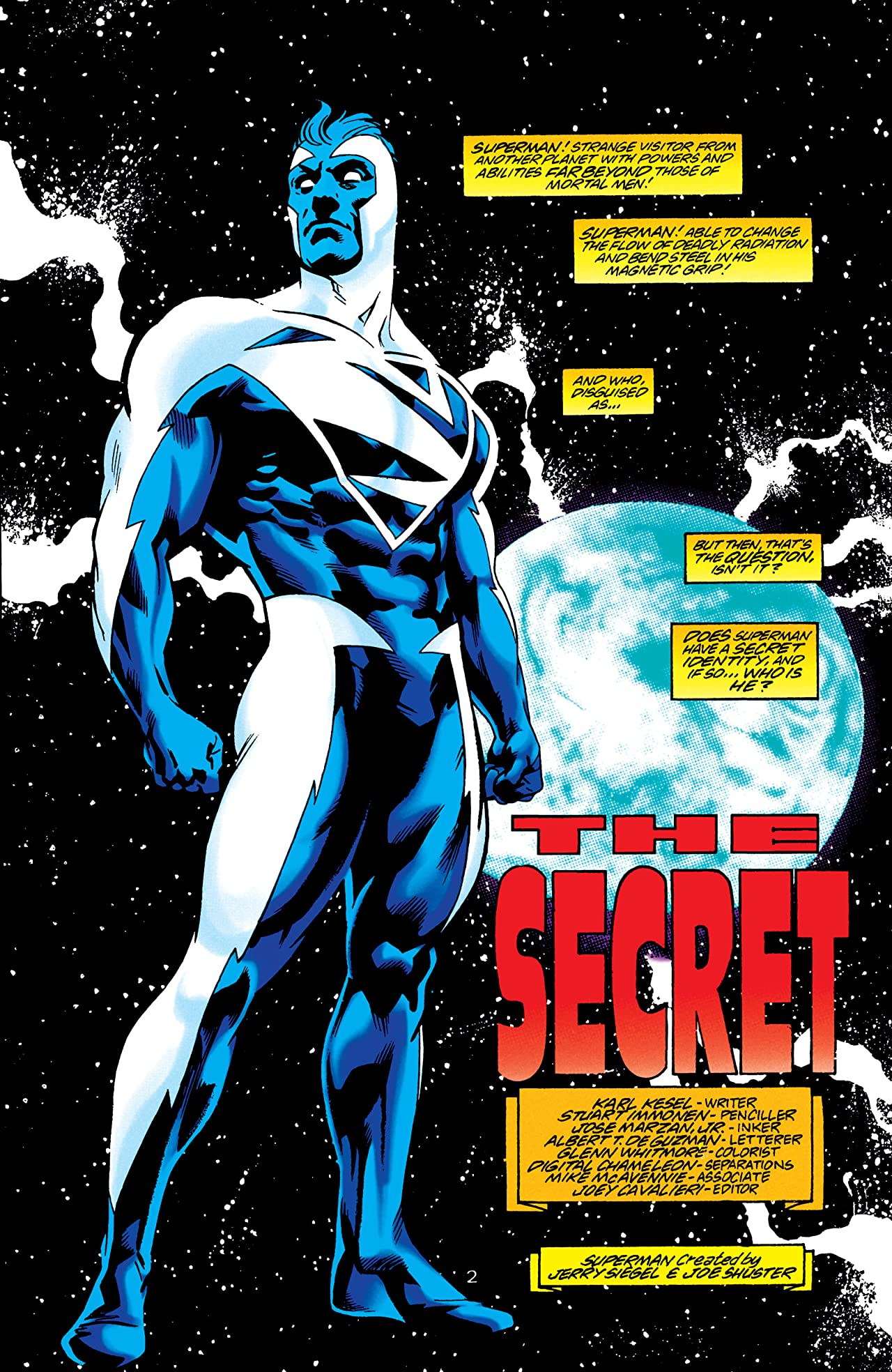 Adventures of Superman (1986-2006) #550