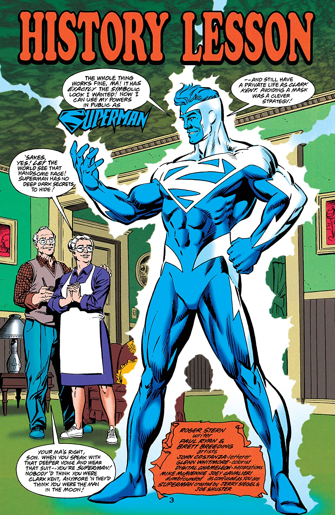 Superman: The Man of Tomorrow (1995-1999) #9