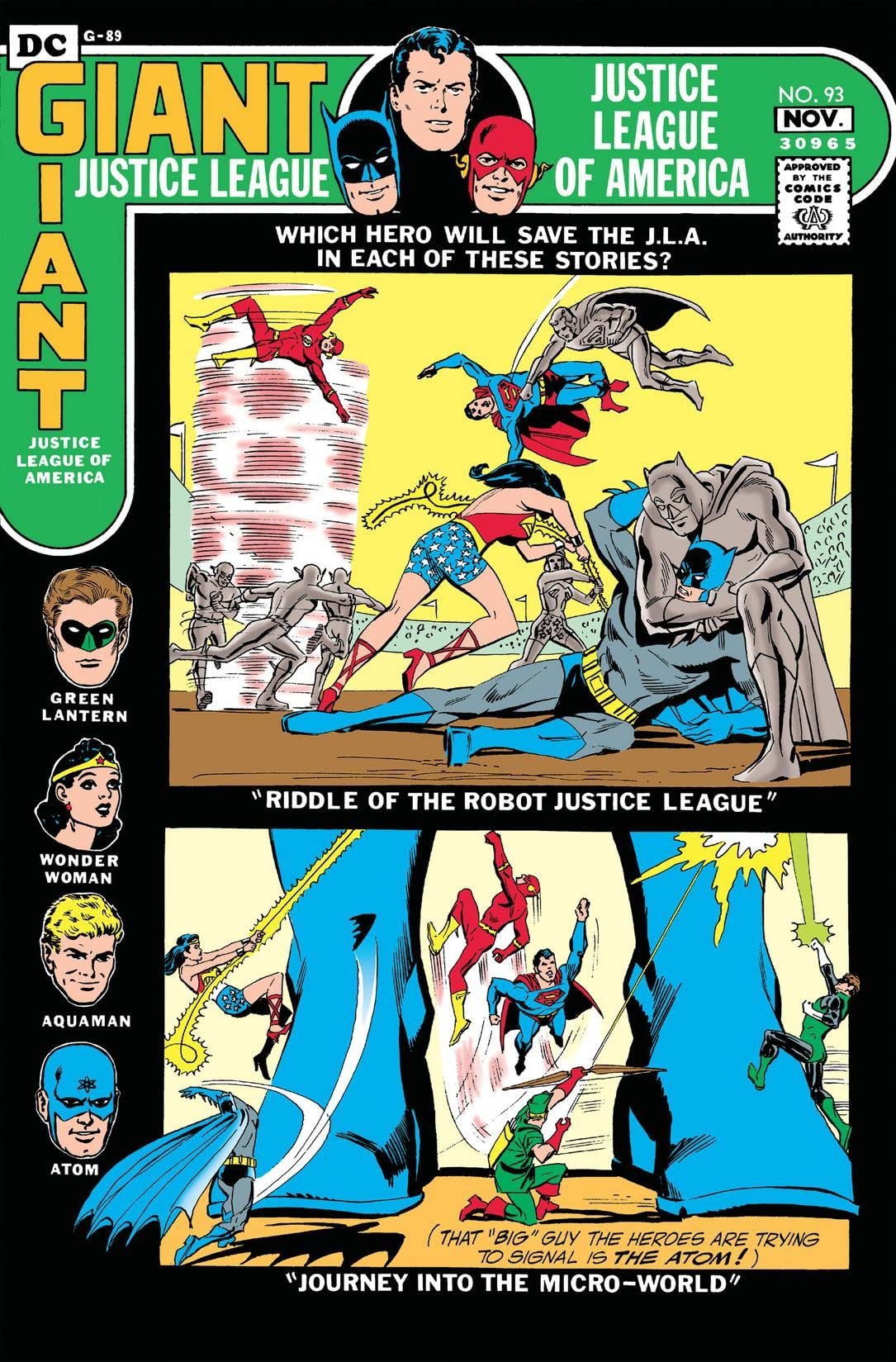 Justice League of America (1960-1987) #93