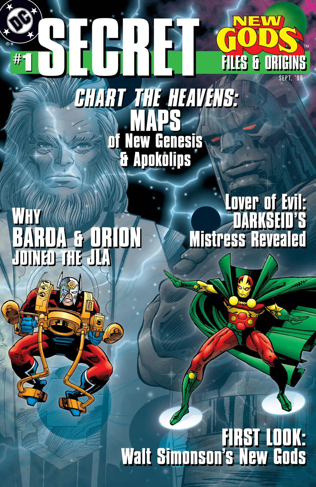 New Gods Secret Files (1998) #1
