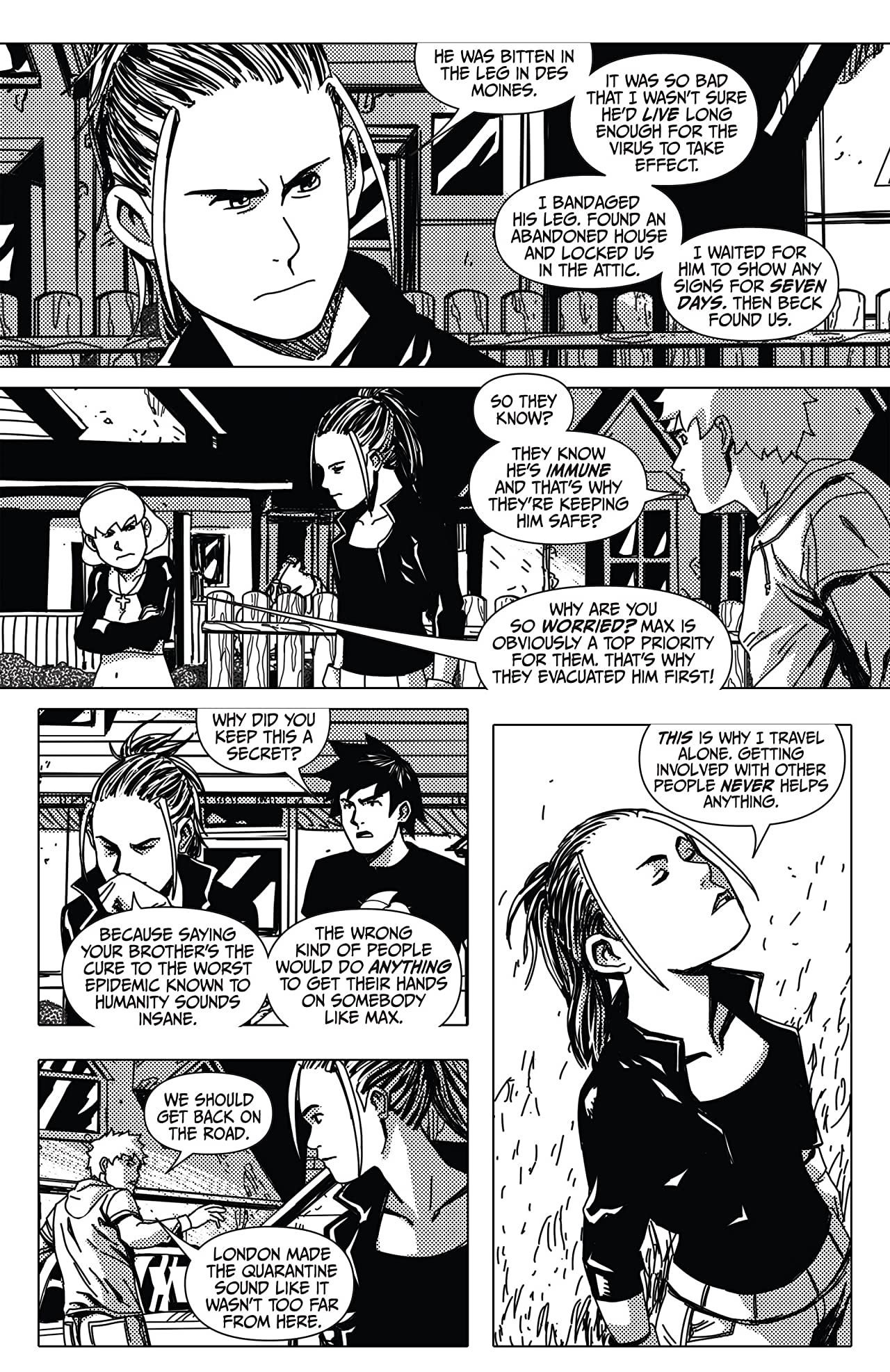 Amanda Hocking's The Hollows: A Hollowland Graphic Novel Part 8 (of 10)