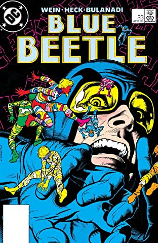 Blue Beetle (1986-1988) #23