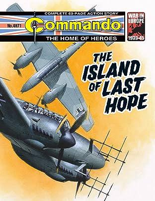 Commando #4971: The Island Of Last Hope