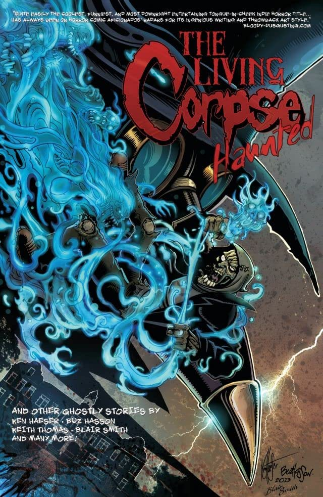 The Living Corpse: Haunted #1: Digital Exclusive Edition