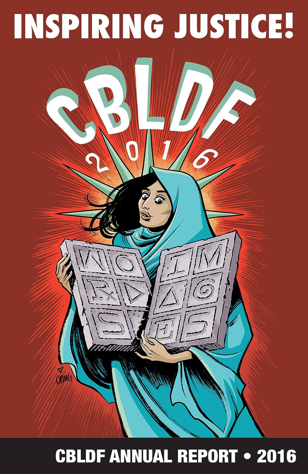 CBLDF Annual Report 2016