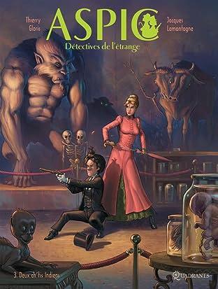 Aspic détectives de l'étrange Vol. 3: Deux ch'tits indiens