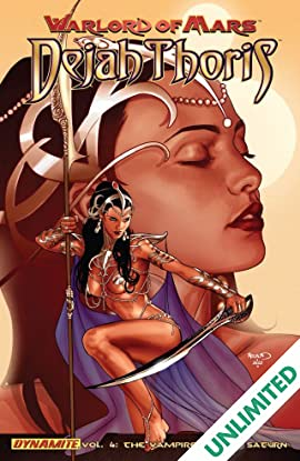 Warlord of Mars: Dejah Thoris Vol. 4: The Vampire Men of Saturn