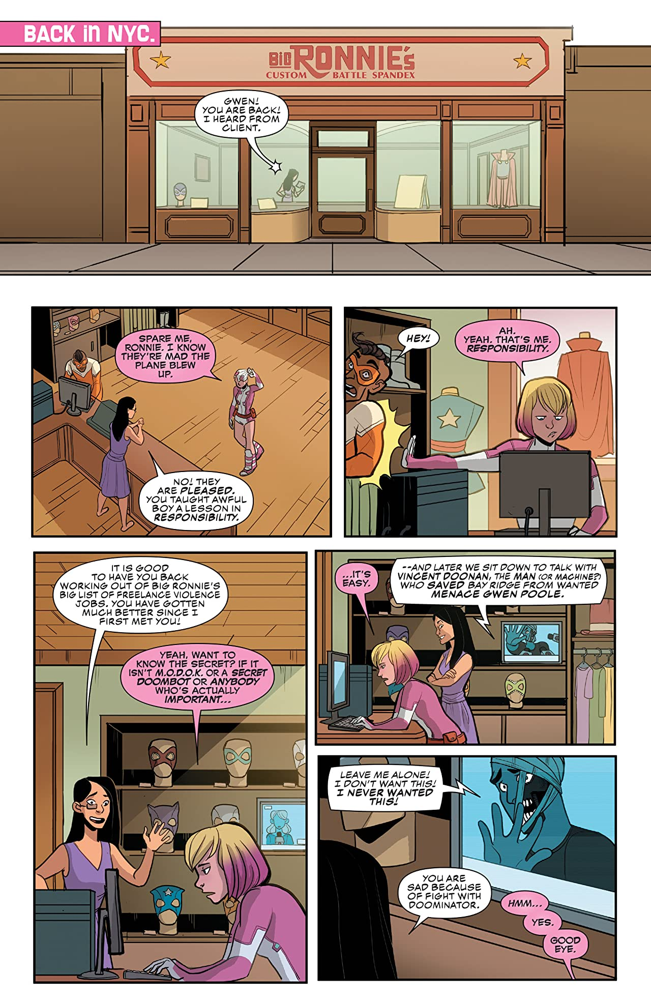 Gwenpool, The Unbelievable (2016-) #11