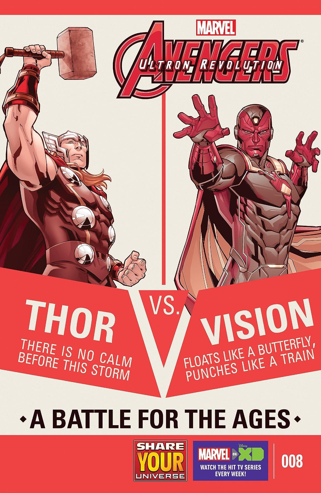 Marvel Universe Avengers: Ultron Revolution (2016-2017) #8