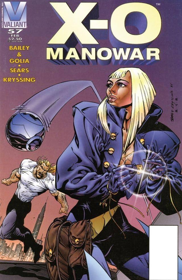 X-O Manowar (1992-1996) #57