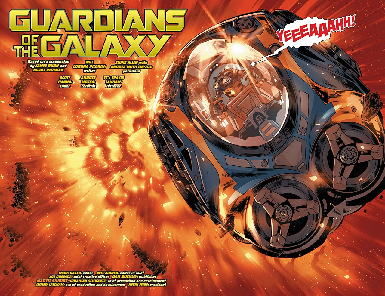 Marvel's Guardians of the Galaxy Prelude (2017) #2