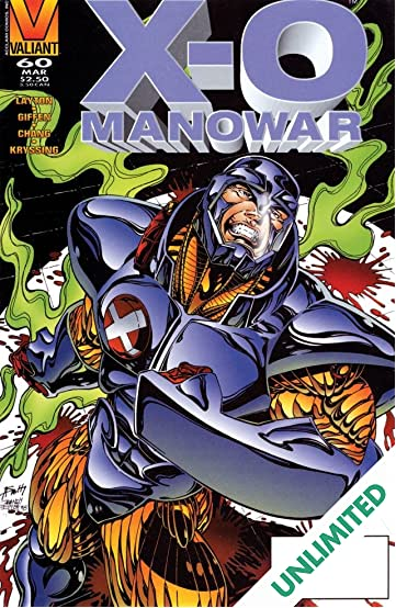 X-O Manowar (1992-1996) #60