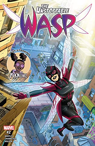 The Unstoppable Wasp (2017-) #2