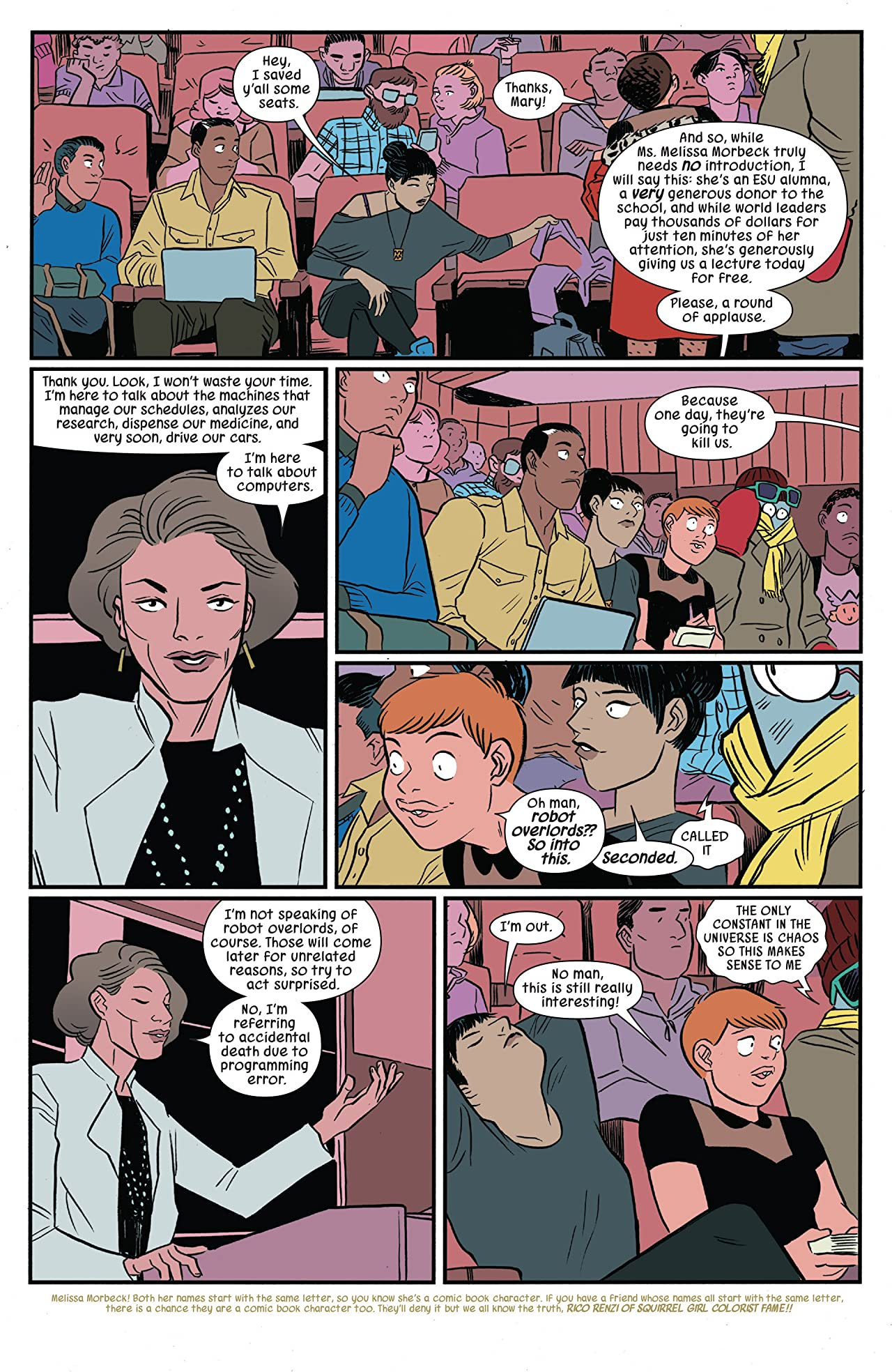 The Unbeatable Squirrel Girl (2015-) #17