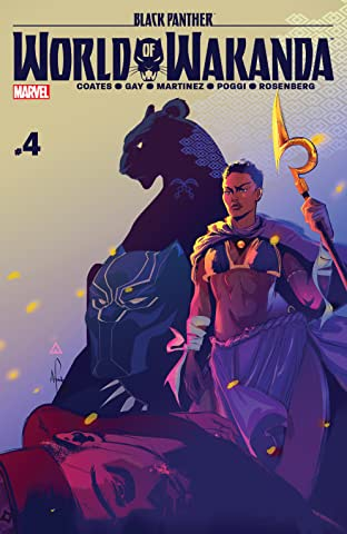 Black Panther: World of Wakanda (2016-) #4