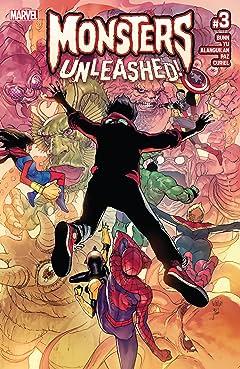 Monsters Unleashed (2017) No.3 (sur 5)