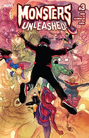 Monsters Unleashed (2017) No.3 (sur 5)