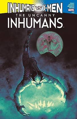 Uncanny Inhumans (2015-2017) #19