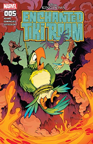 Enchanted Tiki Room (2016-2017) #5 (of 5)