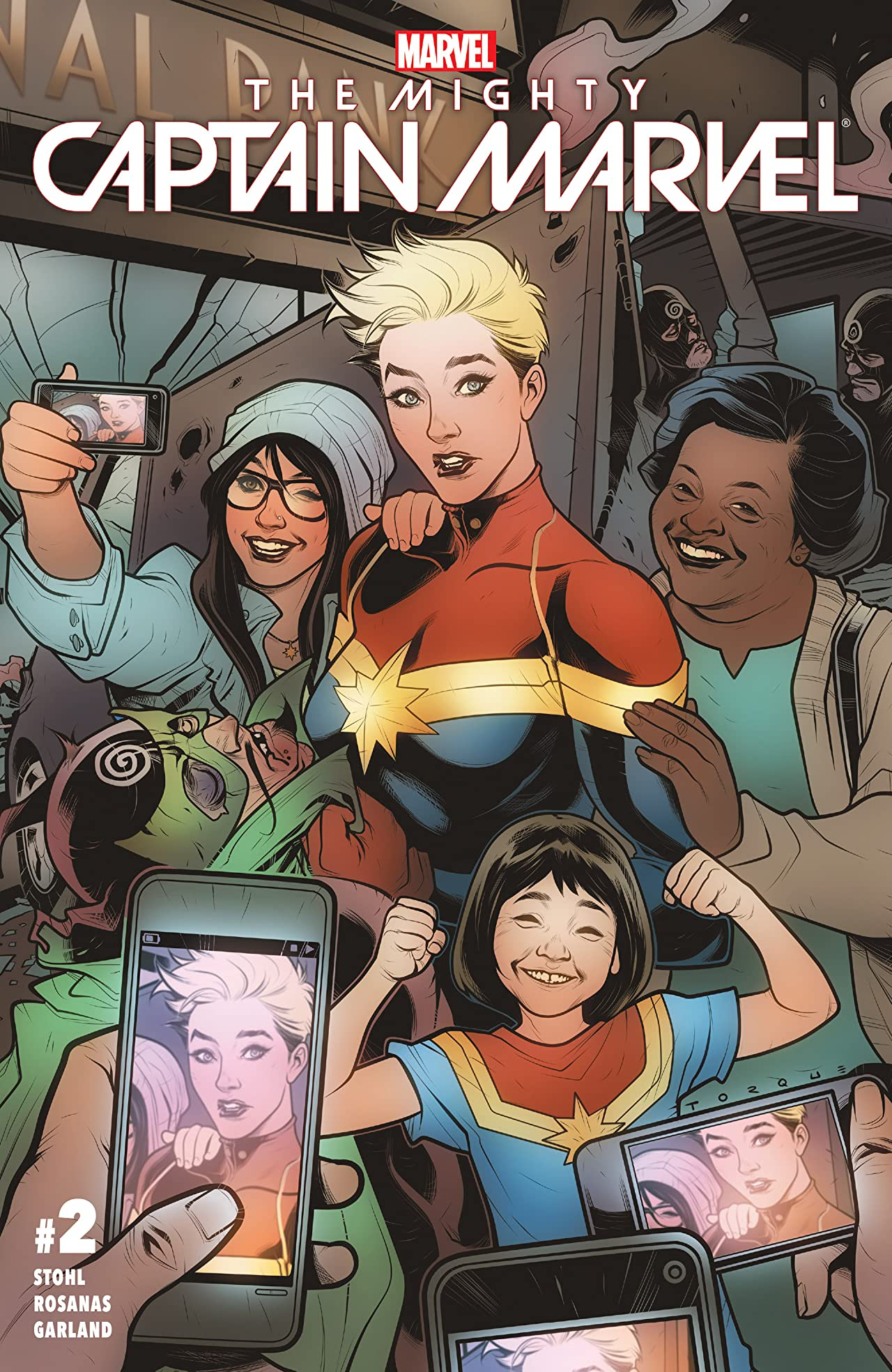 The Mighty Captain Marvel (2016-2017) #2