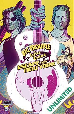 Big Trouble in Little China/Escape from New York #5 (of 6)