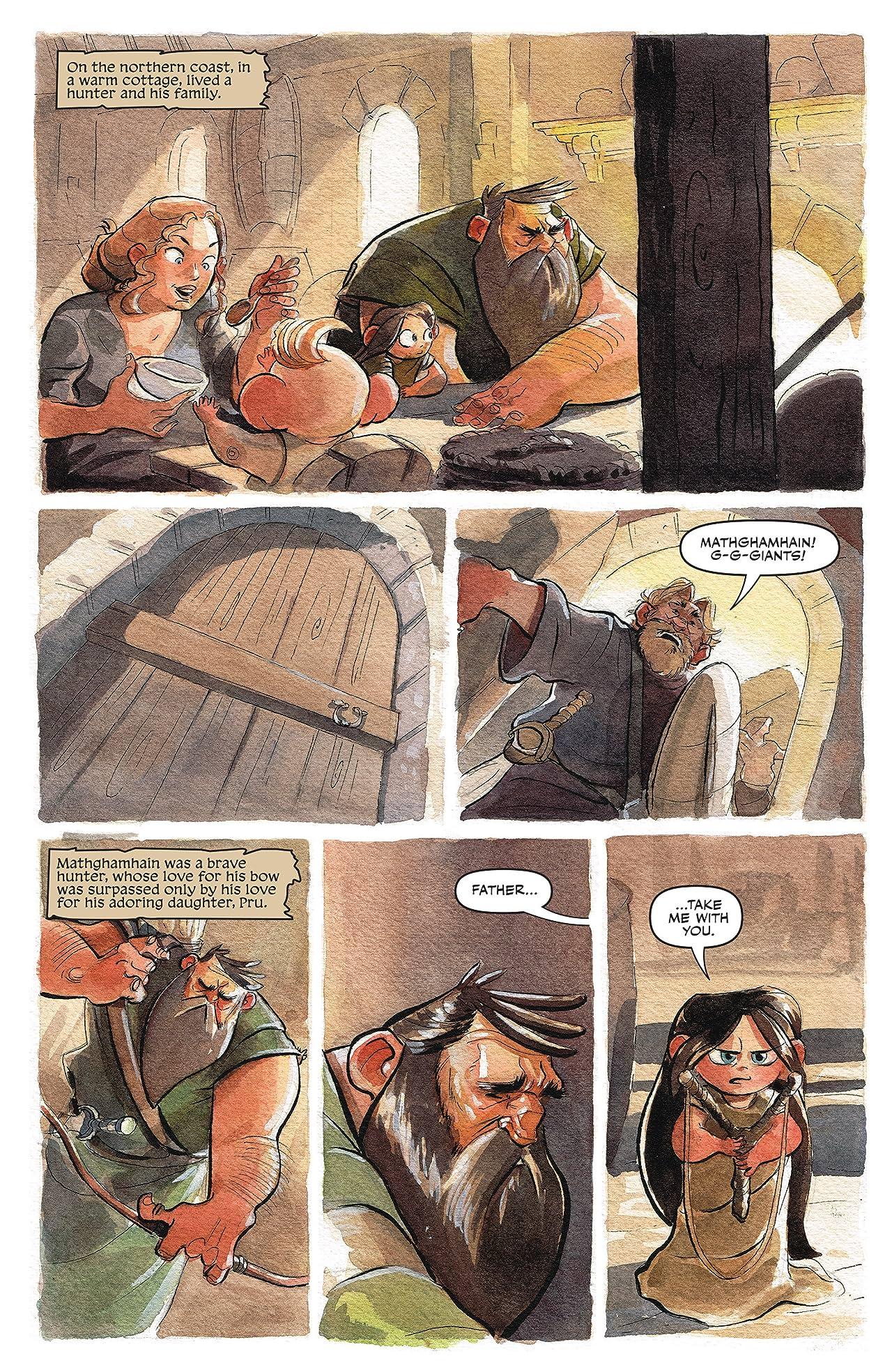 Jim Henson's The Storyteller: Giants #3 (of 4)