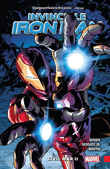 Invincible Iron Man Tome 3: Civil War II