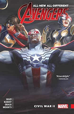 All-New, All-Different Avengers COMIC_VOLUME_ABBREVIATION 3: Civil War II