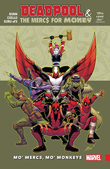 Deadpool & The Mercs For Money Vol. 1: Mo' Mercs, Mo' Monkeys