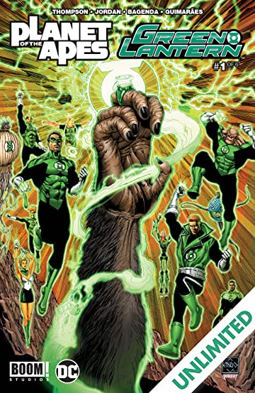 Planet of the Apes/Green Lantern #1 (of 6)