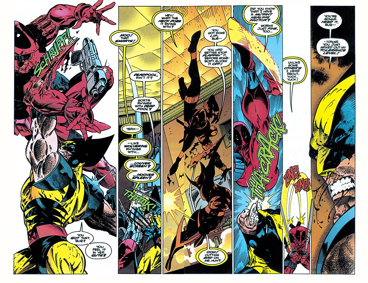 Wolverine vs. Deadpool