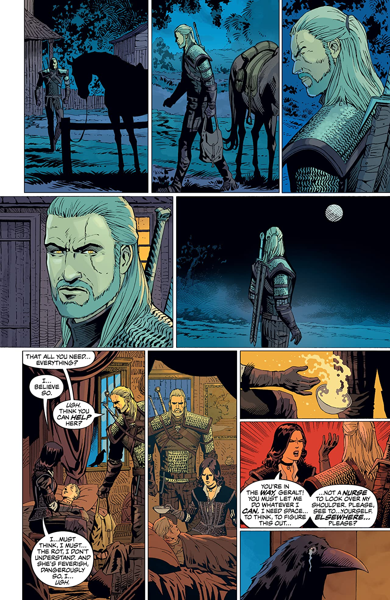 The Witcher: Curse of Crows #5