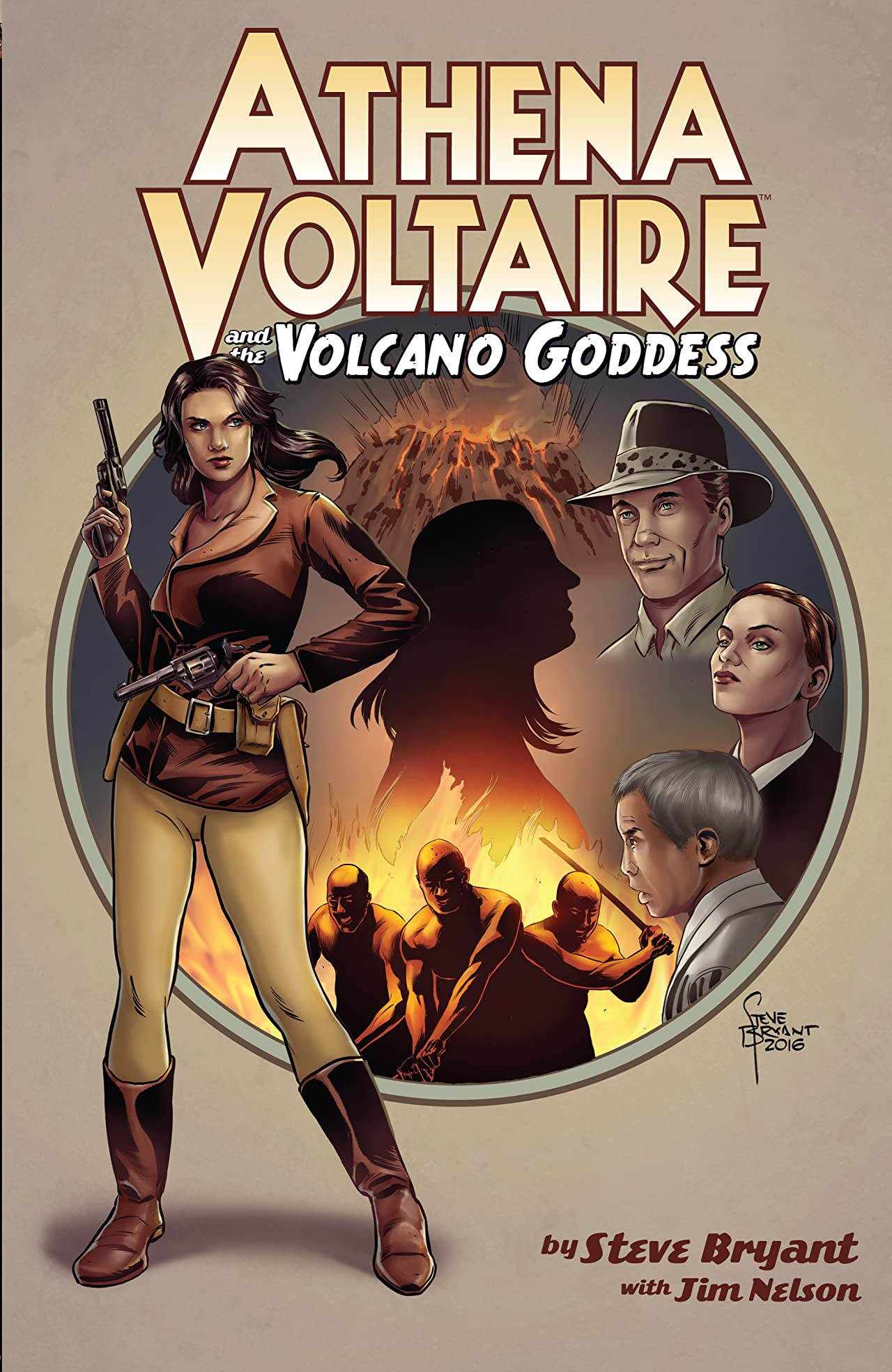 Athena Voltaire and the Volcano Goddess Tome 1
