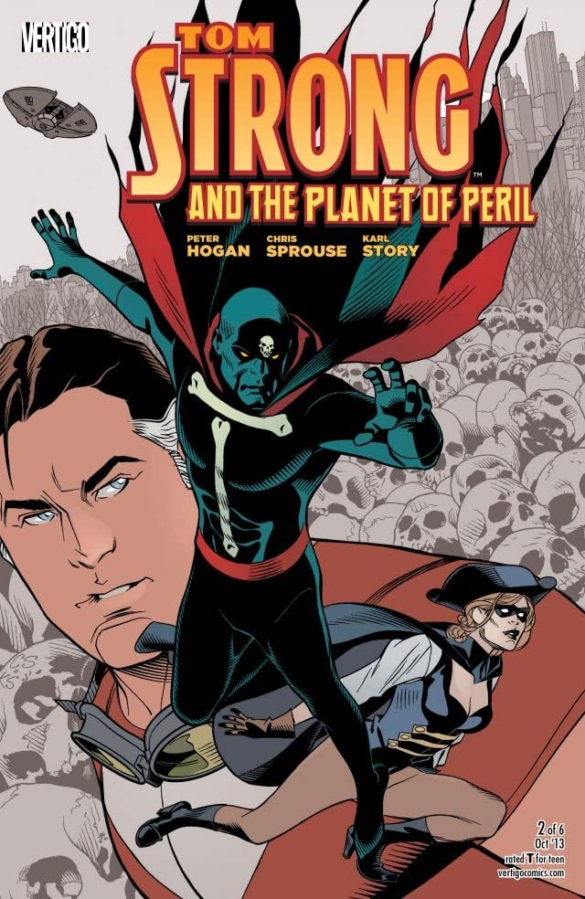 Tom Strong and the Planet of Peril #2 (of 6)