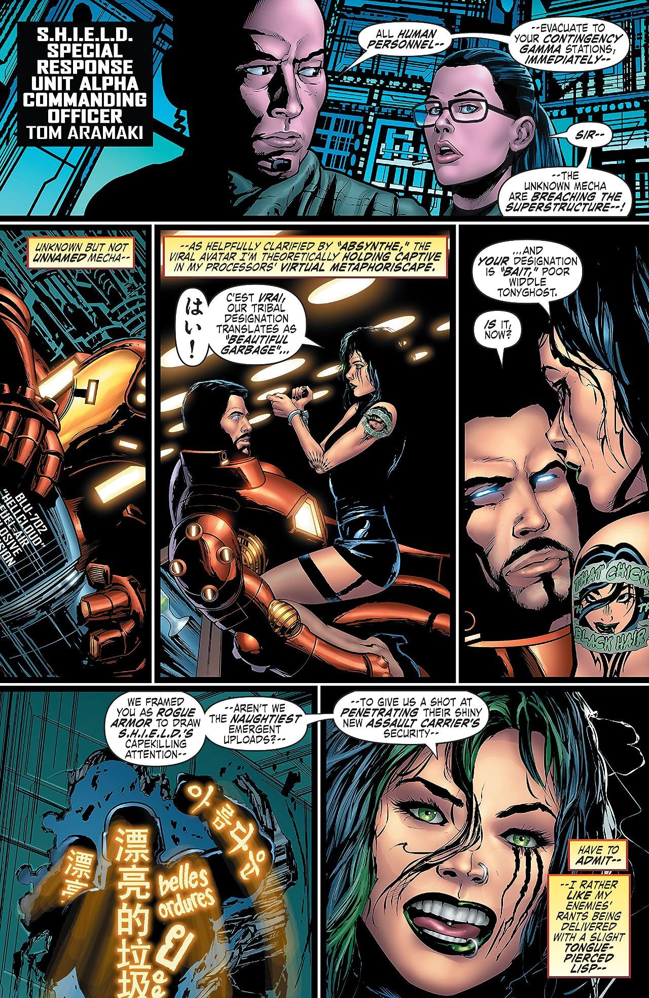 Iron Man: Hypervelocity (2007) #6 (of 6)