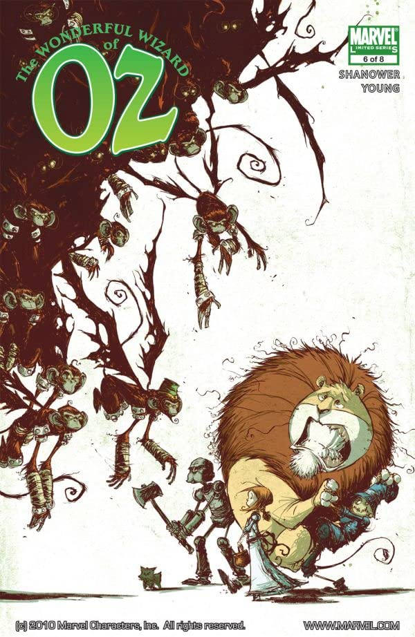 The Wonderful Wizard of Oz #6 (of 8)
