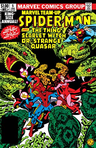 Marvel Team-Up (1972-1985) Annual #5