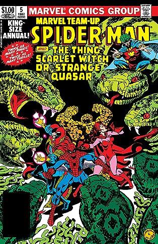 Marvel Team-Up (1972-1985) Annual #5